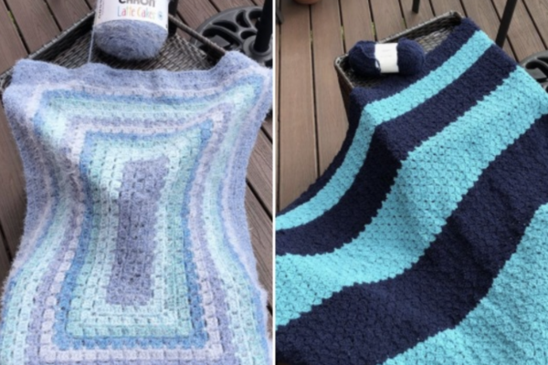 One Commissioned Crocheted Item (Blanket etc)