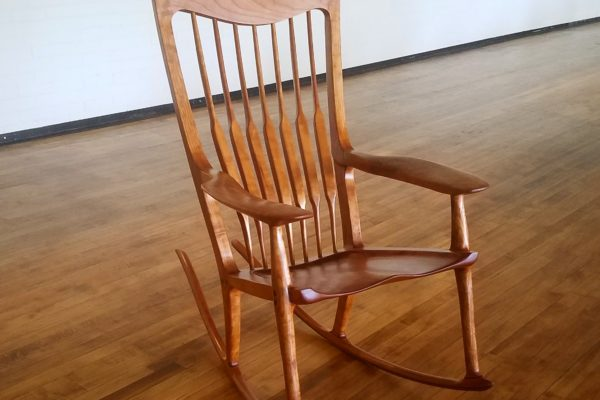 Beautiful Hand-Crafted Rocking Chair